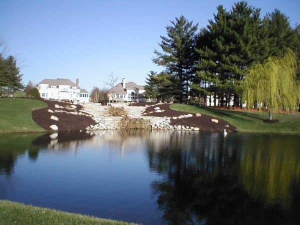 Large Olen Valley Steps to Pond