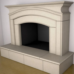 Arlington Fireplace