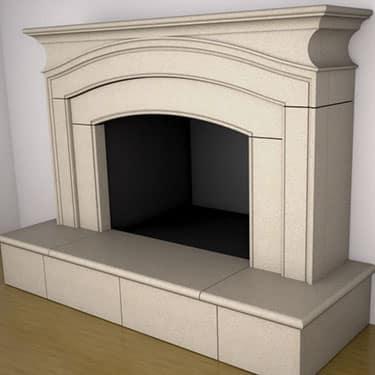 Arlington Fireplace