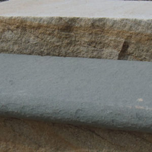 Bluestone Flamed Bullnose Tread/Steps
