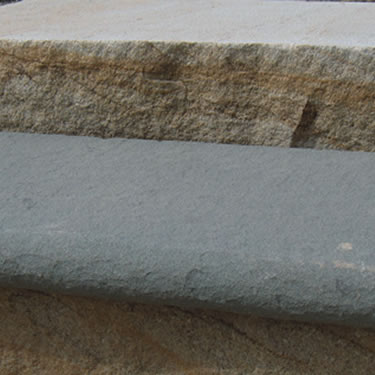 Bluestone Flamed Bullnose Tread/Steps