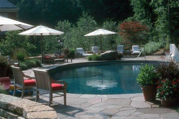 Bluestone Irregular Flagstone Pool