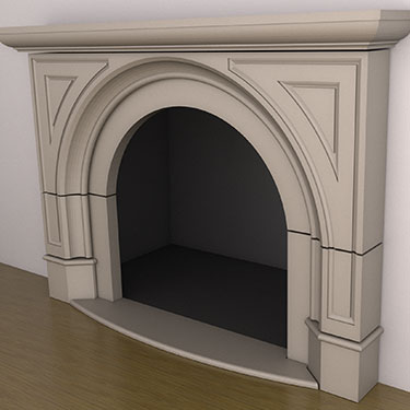 Brentwood Fireplace