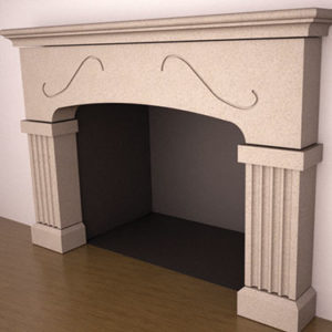 Charleston Fireplace
