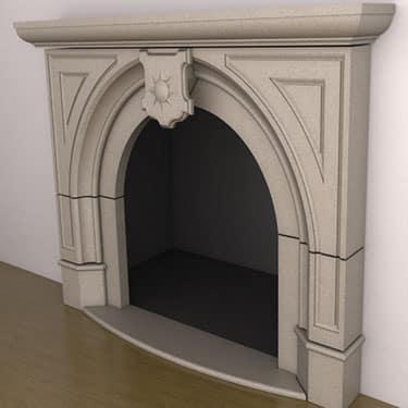 Drexel Fireplace
