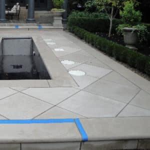 Indiana Limestone Pattern Flagging
