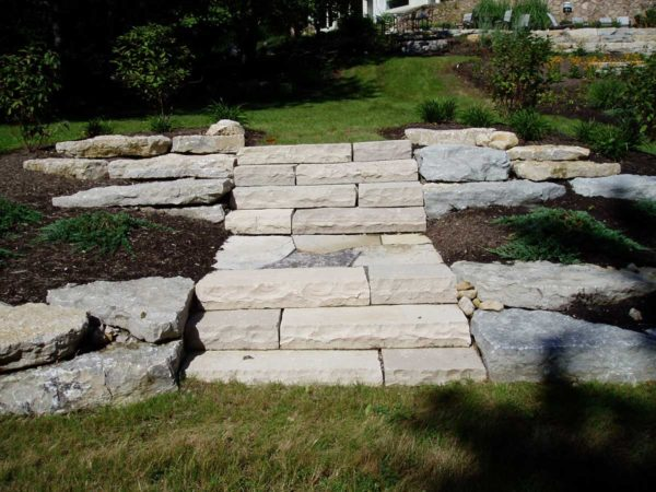 Indiana Limestone Steps and Slabs