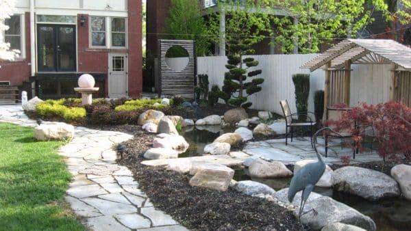 Oriental Garden Granite Boulders