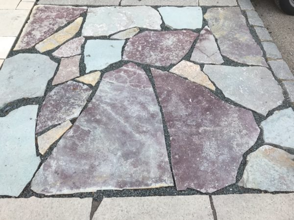 Ottawa Blue Red Irregular Flagstone