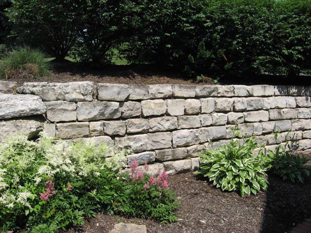 Shoreline Bluevein Retaining Wall
