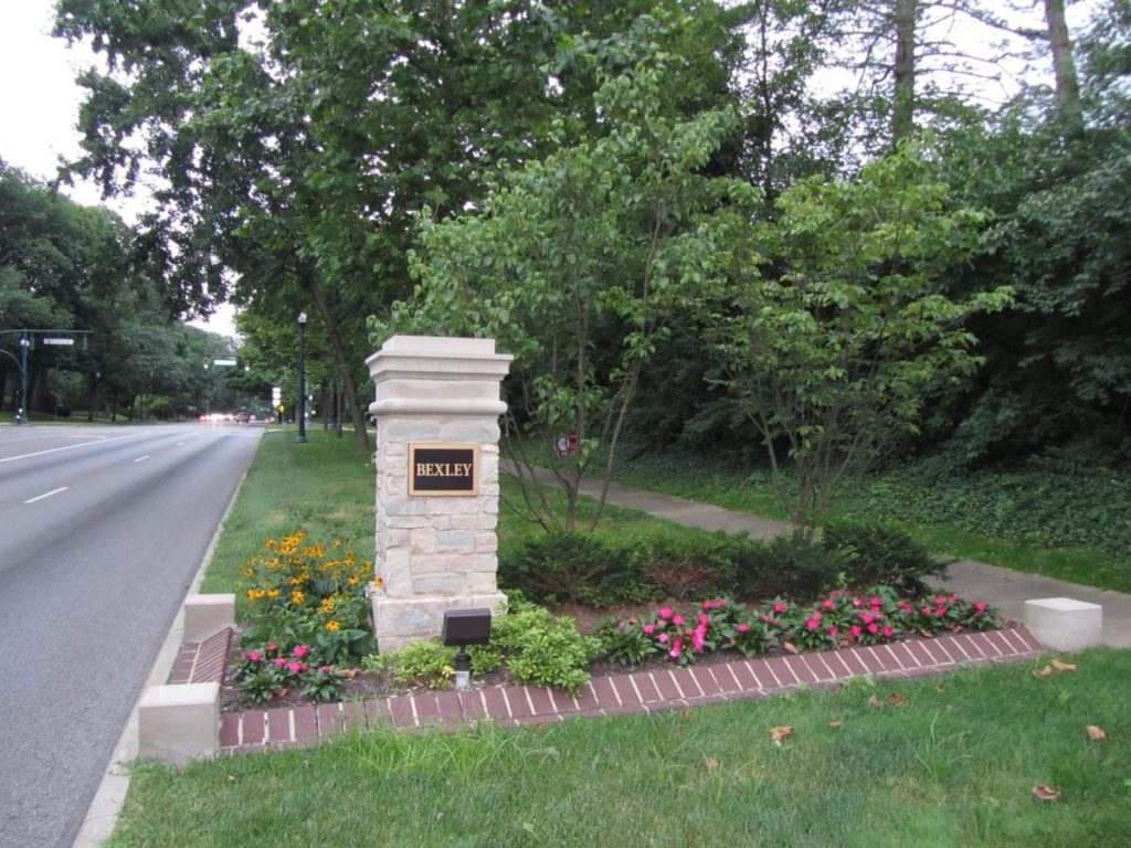 Bexley Dimensional Stone Indiana Limestone Sign