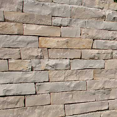Ottawa® Buff Pre-Split Wallstone Smooth